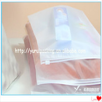 PE Plastic Resealable Apparel Packaging Slider bags