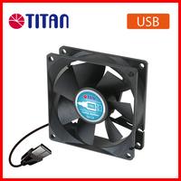 Mini 80*80*25 mm 5V DC USB desk computer PC air cooling fan
