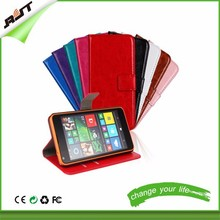 leather flip back cover pu leather cover various colors optional flip cover for nokia lumia 640