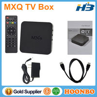 KODI Fully Loaded Quad Core IPTV Box Amlogic S805 Android 4.4.2 Satellite Receiver 1GB 8GB Full HD 1080P TV Box Europe Wholesale