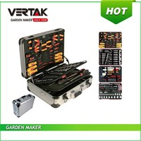 Hot sales 121pc household tool set in aluminium case, high quality hand tool set,master hand tool
