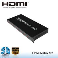 1080P eight ports matrix hdmi 1.3