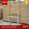 High polished natural light travertine marble (good price)