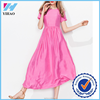Yihao Fashion Women New Women Summer Casual Short Sleeve Party Evening Cocktail long Dress