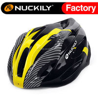 Nuckily yellow cool design moutain bike helmet cycling In-moulded shell safety helmet