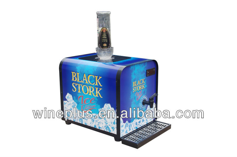 Single Shot Dispenser ~ Single bottle chilled shot dispenser compressor liquor