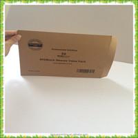 Custom brown kraft paper envelope, wholesale brown kraft paper envelope
