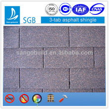 China Building materials factory waterproofing roofing shingles price for sale