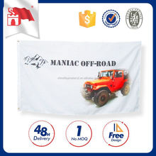 Hot New Products High Quality Company Logo And Size Printed Cloth Banner