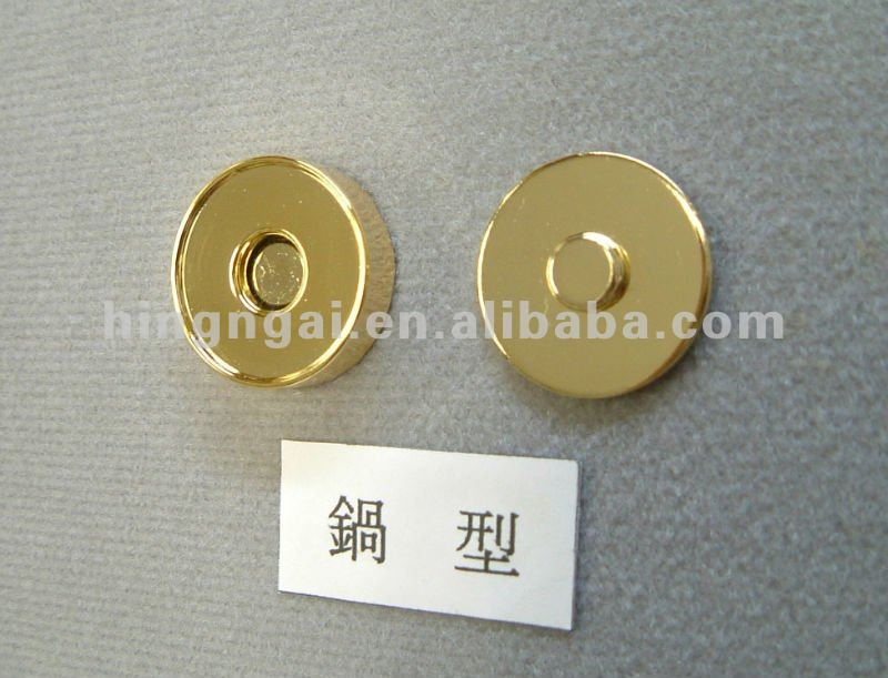 Pressão magnética, Fecho magnético, Botão magnético para bolsa, Bolsa botão ímã, Botões magnéticos para sacos