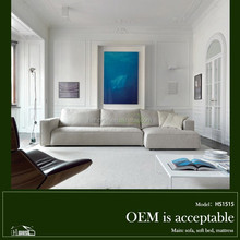 1515#simple wooden sofa set design rexine simple fabric sofa on sale