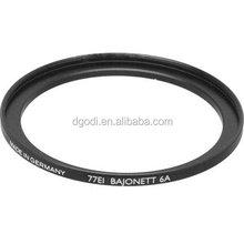 chian dongguan factory produce matt black anodized aluminum camera lens adapter ring