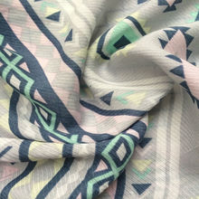 tribal textile printing viscose fabric for women's clothing from china manufacturer