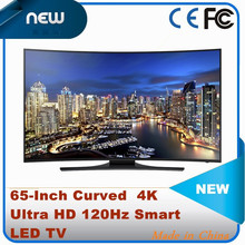 NEW 65-Inch Curved 4K Ultra HD 120Hz Smart LED TV
