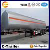 30-60cbm fuel tanker trailer, oil tank trailer, mobile fuel trailers