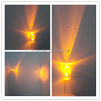 590nm - 595nm Amber / Yellow 10mm led diode