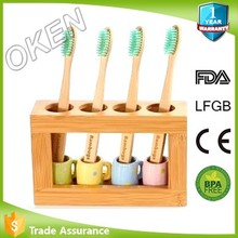 eco dental for oral care Bristle Bamboo Toothbrush for family