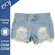 Get Your Own Designed Breathable Tight Cotton Lace Shorts