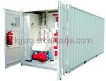 20ft and 40 ft portable gas station/container fuel filling station with motor pump and dispensers