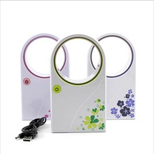 Gift battery USB mini air conditioner fan
