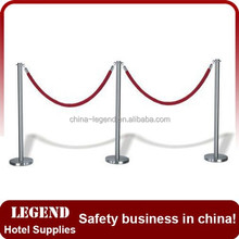 Alibaba website recommend retractable railing stand for hotel