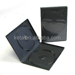 14mm Standard Double Black DVD R Case, DVD Box