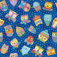 Wholesale owl design printed combed cotton spandex jersey fabric for kids