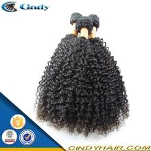natural brazilian 100% virgin human hair afro kinky curly wholesaler