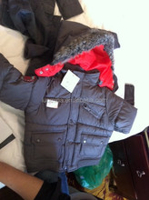 2013 three in one big brand warm fur coats for kids 813C&B