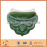 Green traditional decorative classical tile roof glazed
