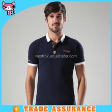 Embroidery Pattern Short Sleeve Custom Fitness t shirt