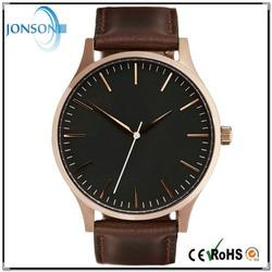 OEM & ODM welcome mvmt watch miyota movement vintage leather wrist watch
