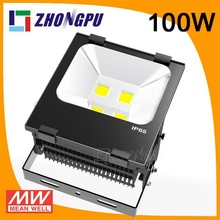 CE PSE UL Appoval Remote Control Outdoor LED Flood Light, RGB LED Flood Light 10000lm, DMX512 Controller,80Ra,Cree&Epistar Chip