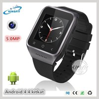 Hot sale touch screen digital multimedia 3G GSM android wifi wrist watch cell phone (S8)