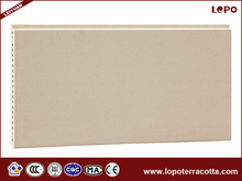 External wall terracotta panel 18mm thickness