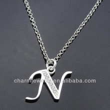 Wholesale lovely new Design Alphabet Charms N PCC-003