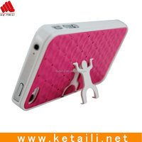 Mobile phone case Cover with trestle /stand for Iphone 4G