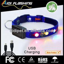 LED pet dog collar / Dog walking light up collar
