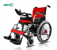 High Cost Performance For The Old And Disabled Aluminum Electric Wheelchair