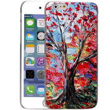 oil painting printing shockproof ultra-slim soft TPU flexible gel silicon for iPhone 6/ 6 plus