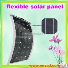 2015 hot sale 100w solar panel Sunpower flexible solar panel 100w Mono
