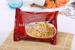 Hot sell !!!85g instant flavor noodle beef flavor instant noodle