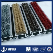Comfortable decorative Recessed 3m entrance matting for commercial
