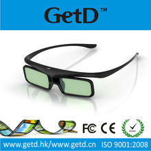 glasses free 3d tv Universal 3D battery Infrared Active Shutter Glasses for 3D TVs compatible with Toshiba