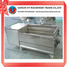 Commercial Stainless steel fresh radish/carrot/potato washing machine for sale