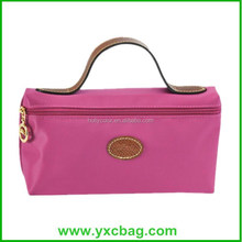 Large Capacity Polyester Cosmetic Bag Custom