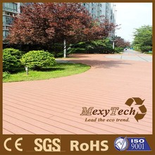 WPC plastic wood composite outdoor decking/ outdoor garden flooring