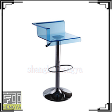 Blue Bar stool (Bar stools) with adjustable height