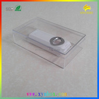 130*78*35mm clear plastic gift box with plastic lids
