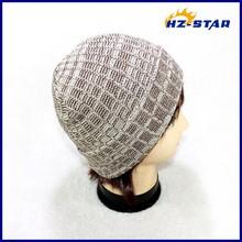 Hzm-12071007ฤดูหนาวขายส่งรูปแบบใหม่การออกแบบวงกลมถักหมวก